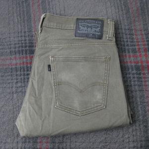 Men's Levis 513 Jeans (33x30)